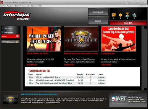 Intertops Poker Reviews